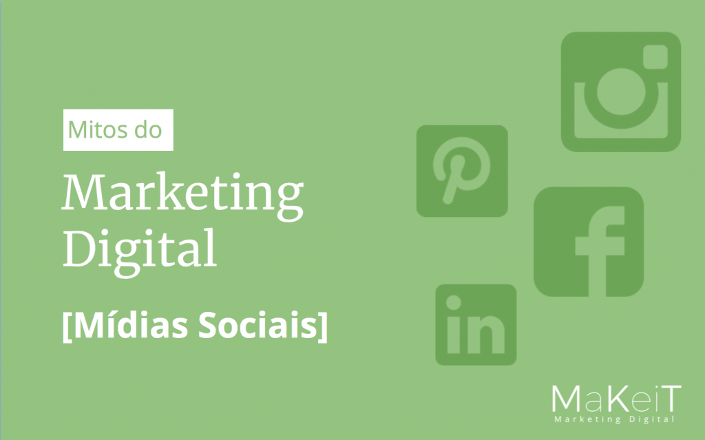 eBook Mitos do Marketing Digital - Mídias Sociais