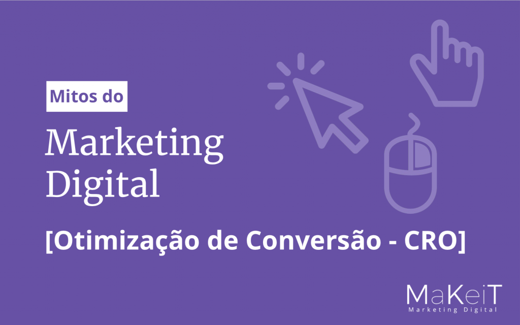 eBook Mitos do Marketing Digital: Otimização de Conversão - CRO