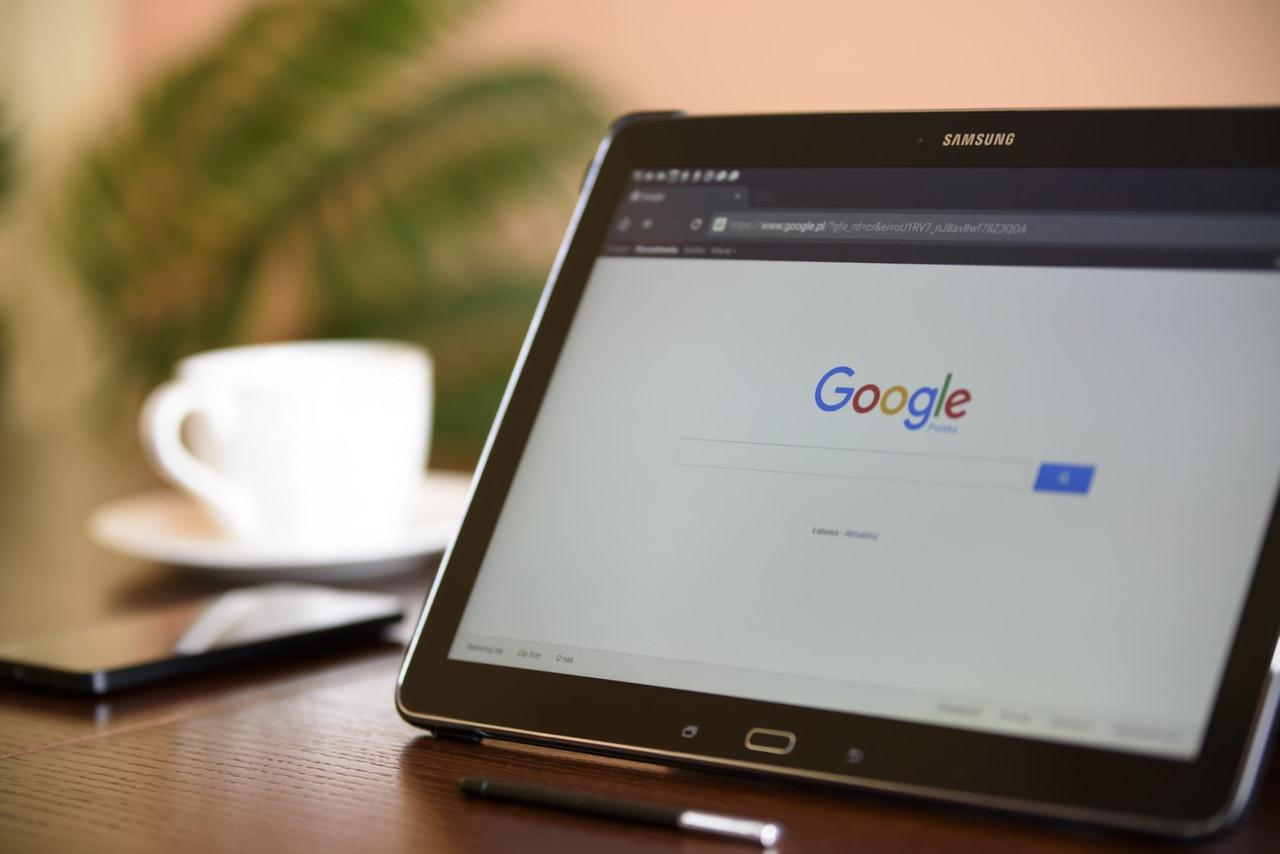 google no tablet