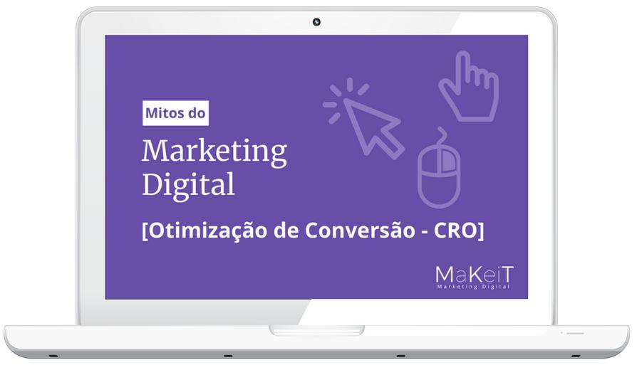 eBook Mitos do Marketing Digital - CRO