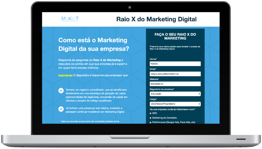 Raio X do Marketing Digital