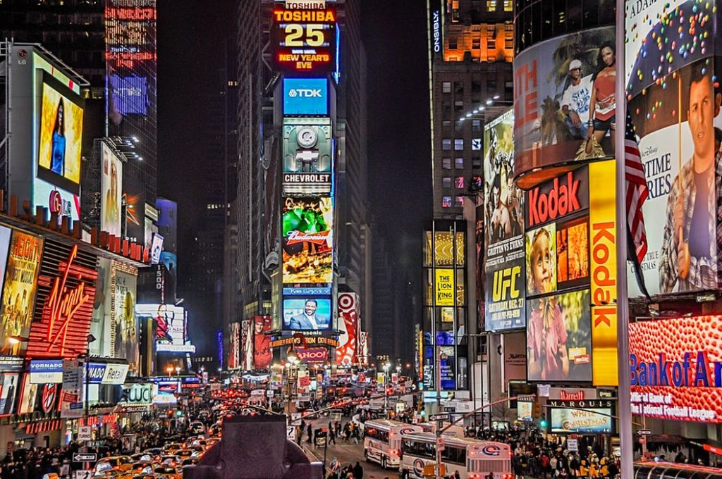 Marketing Tradicional em Manhattan