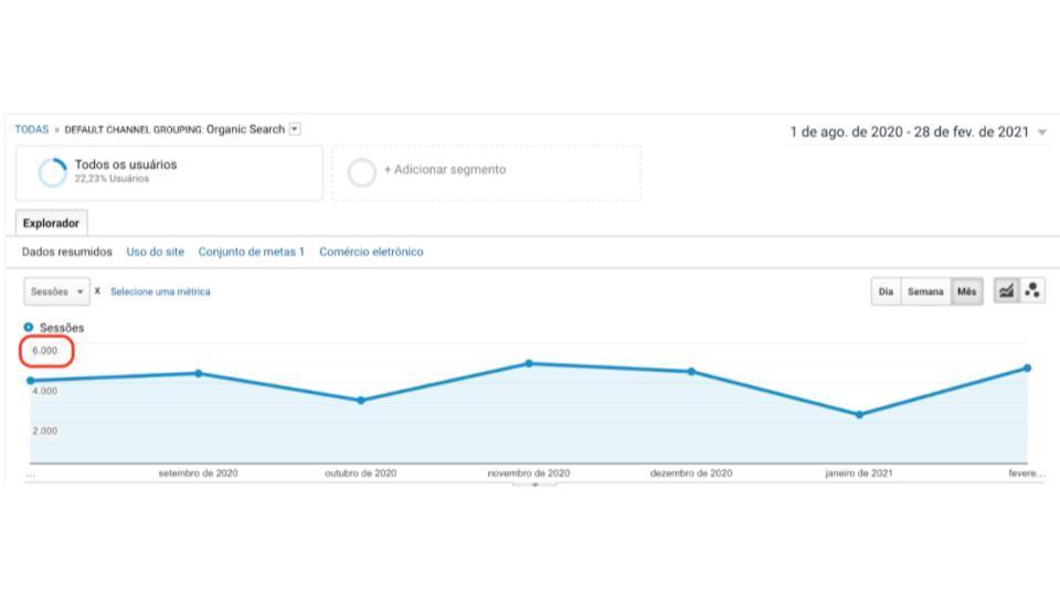 Google Analytics Dona Clara_1